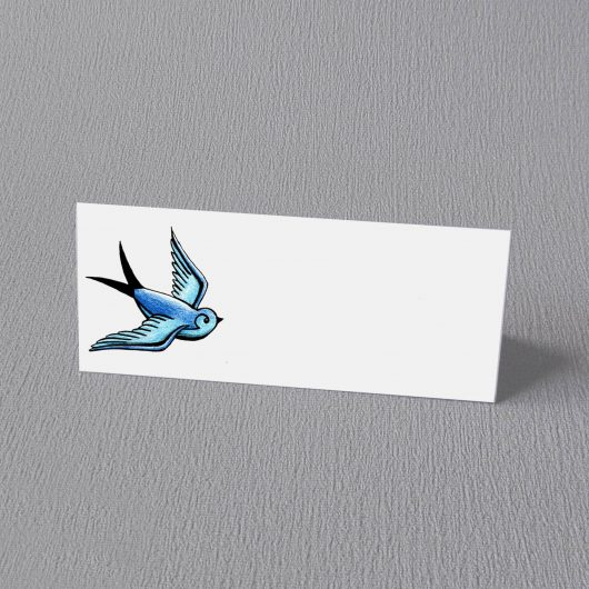 tattoo swallow place card