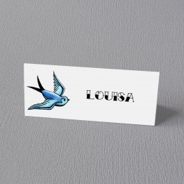 Tattoo Swallows Place cards