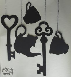 Alice in Wonderland Hanging Decorations