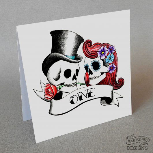 rockabilly skulls table number