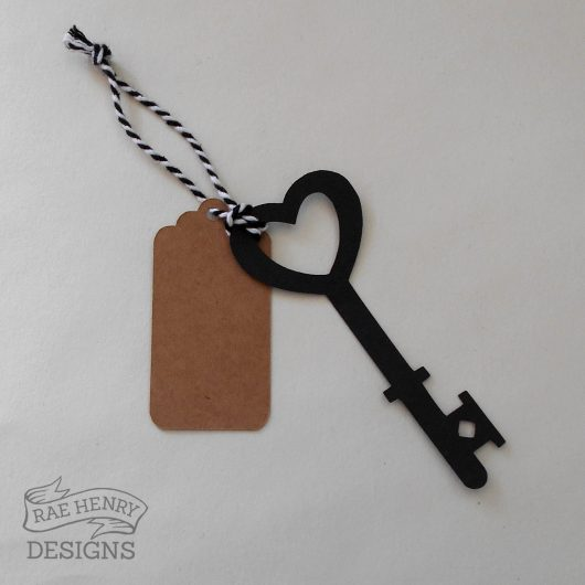 steampunk Key Place Cards