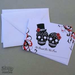 Sugar Skulls Invitations