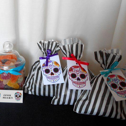 sugar skull gift tags