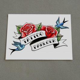 Tattoo Parlour Sign