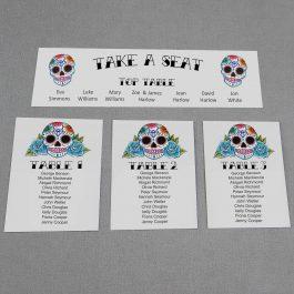 Sugar Skulls Table Plan