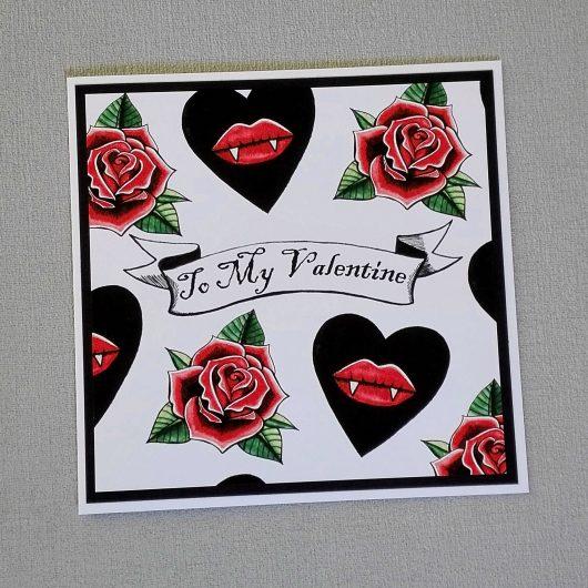 Tattoo Valentine Card
