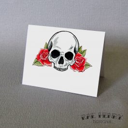Skull Place Cards