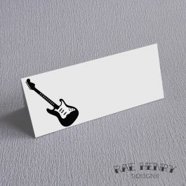 Guitar Place Cards