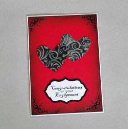 Gothic Engagement Card