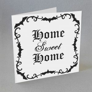 gothic new home card