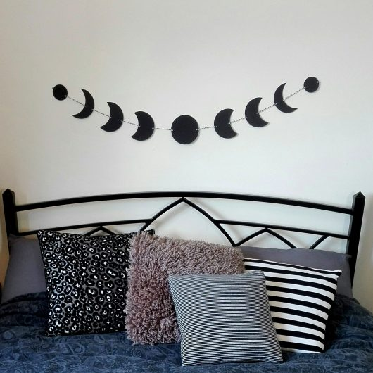 Moon Phases Bunting