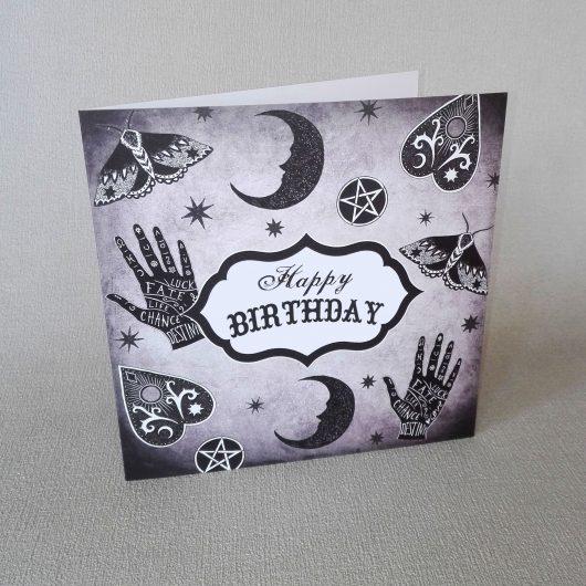 mystical birthday card