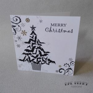 gothic christmas card