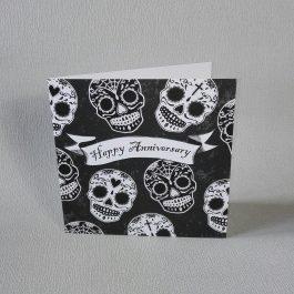 Sugar Skulls Anniversary Card