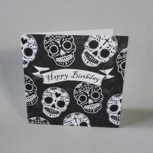 Sugar Skulls Birthday Card