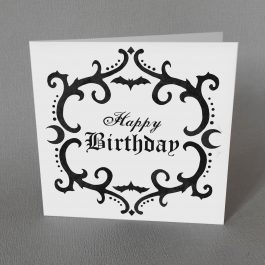 Gothic Birthday Card