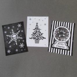 Goth Christmas Art Prints
